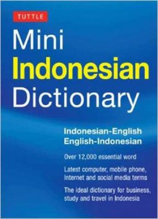 Mini Indonesian Dictionary by Katherine Davidsen