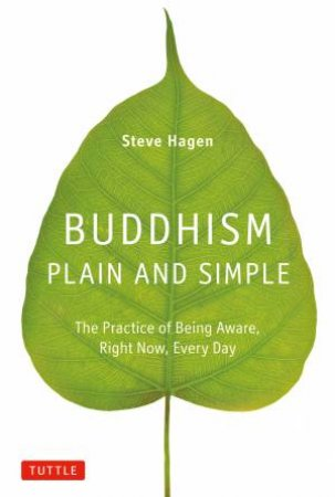 Buddhism Plain And Simple: The Practice Of Being Aware, Right Now, Every Day by Steve Hagen