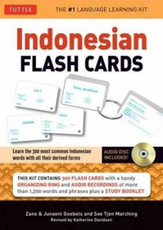 Indonesian Flash Cards by Zane Goebel & Junaeni Goebels & Soe Tjen Marching