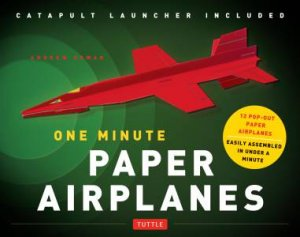 one minute paper One minute paper airplanes kit this kit contains 12 full color pop-out paper pieces, a catapult launcher and instruction booklet this book and kit contains awesome paper folding projects fun easy activity, no glue needed easy instructions with lines to fold on.