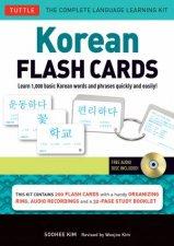 Korean Flash Cards Vol.1 by Soohee Kim
