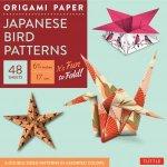 Origami Paper Japanese Bird Patterns