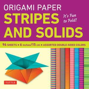 Origami Paper Stripes and Solids by Various