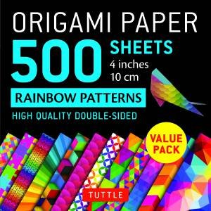 Origami Paper 500 Sheets Rainbow Patterns 4\