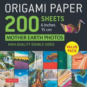 Origami Paper 200 sheets Mother Earth Photos 6 Inches (15 cm)