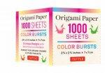 Origami Paper Color Burst 1000 Sheets 2 34 Inch 7 cm