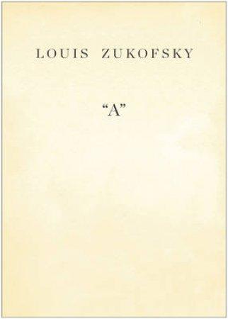'A' by Louis Zukofsky
