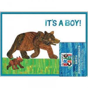 Eric Carle: It's a Boy! Birth Announcements