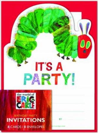 Eric Carle Birthday Invites