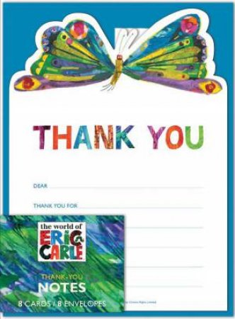 Eric Carle Birthday Thank-Yous