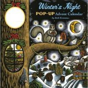 Winter's Night Pop-Up Advent Calend by Beth Krommes
