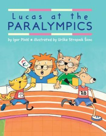 Lucas at the Paralympics by Igor Plohl