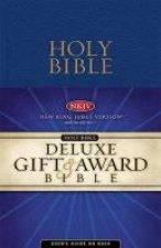 Bible New King James Version Gift  Award Bible  Blue