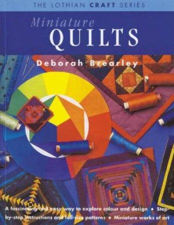 Miniature Quilts by Deborah Brearley