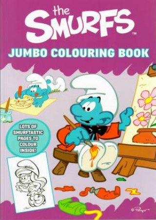 Smurf's Jumbo Colouring Book by Various