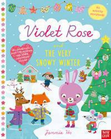 Violet Rose and the Very Snowy Winter: Sticker Activity Book