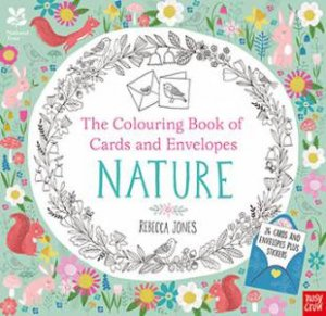 Colouring Cards and Envelopes - Nature by Various