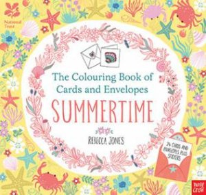Colouring Cards And Envelopes: Summertime by Rebecca Jones