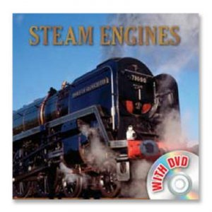 Vehicle Book & Dvd: Steam Engines by None