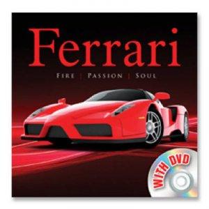 Vehicle Book & Dvd: Ferrari by None