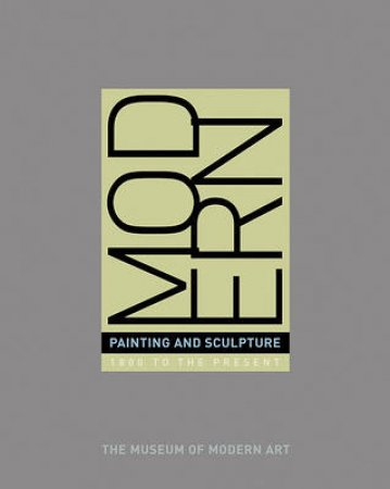 Modern Painting And Sculpture by Elderfield John Ed