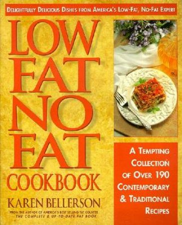 Low Fat No Fat Cook Book
