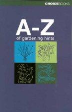 AZ Of Gardening Hints