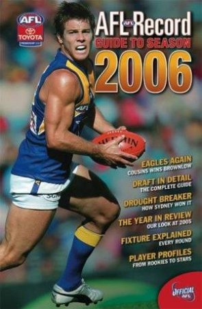 AFL Record Guide To Season 200 by Michael Lovett (Ed)