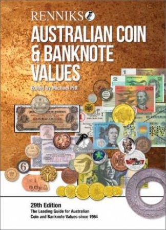 Renniks Australian Coin & Banknote Values 29th Ed