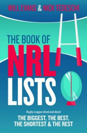 NRL Lists by W. and Tedeschi, N Evans
