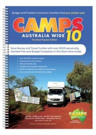 Camps Australia Wide 10 Spiral by Various