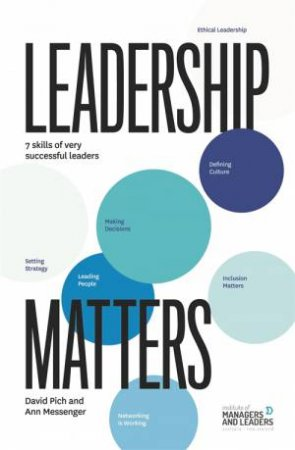 Leadership Matters by David and Messenger, Ann Pich