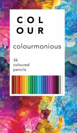 ColourMonious 36 Colour Pencil Tin