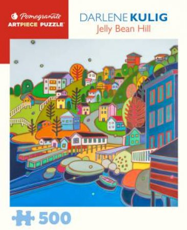 Darlene Kulig: Jelly Bean Hill 500-Piece Jigsaw Puzzle