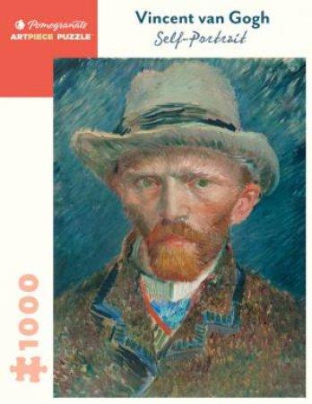 Vincent Van Gogh: Self-Portrait 1000-Piece Jigsaw Puzzle by Vincent Van Gogh