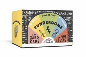 Punderdome: A Card Game For Pun Lovers by Jo Firestone & Fred Firestone