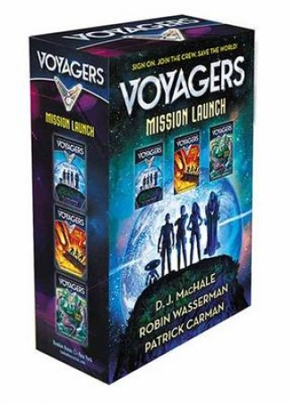 Voyagers Mission Launch Boxed Set by Robin Wasserman