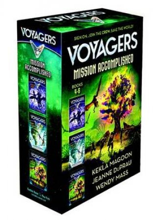 Voyagers The Final Countdown Boxed Set (Books 4-6) by Jeanne;Mass, Wendy; DuPrau