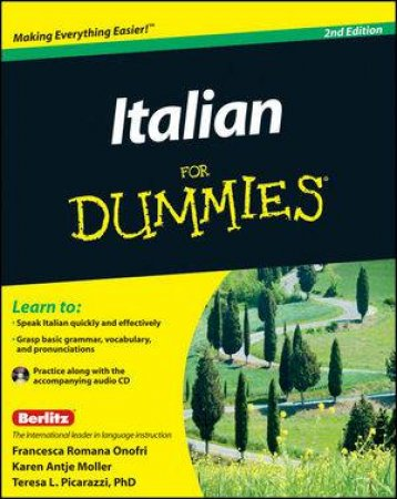 Italian for Dummies, 2nd Edition with CD by Various