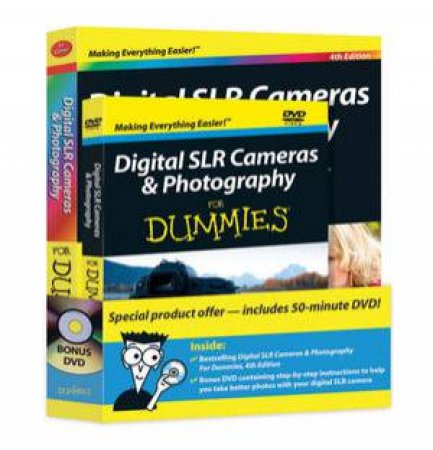 Digital SLR Cameras & Photography for Dummies, 4th Edition