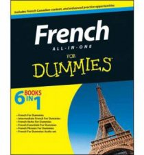 French All-In-One for Dummies with CD by Various