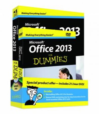 Office 2013 for Dummies, Book + DVD Bundle by Wallace Wang