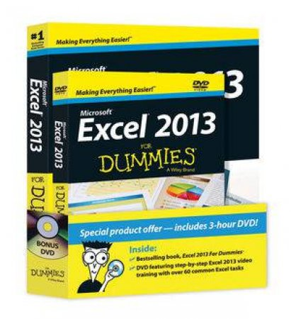Excel 2013 for Dummies (Book + DVD Bundle)