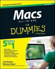 Macs All-In-One for Dummies (4th Edition) by Joe Hutsko & Barbara Boyd