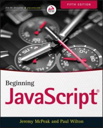Beginning Javascript - 5th Edition