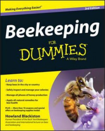 Beekeeping for Dummies - 3rd Edition by Howland Blackiston