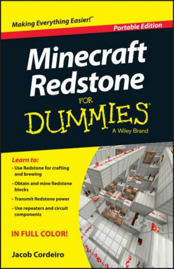 Minecraft Redstone for Dummies - Portable Edition by Jacob Cordeiro [Paperback]