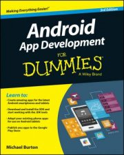 Android App Development for Dummies - 3rd Ed. by Michael Burton