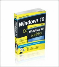Windows 10 for Dummies Book + Online Videos Bundle by Andy Rathbone