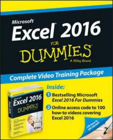 Excel 2016 for Dummies: Complete Video Training Package